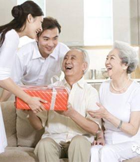 Biếu người lớn tuổi